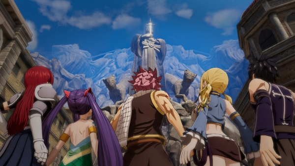 Fairy Tail se exhibe en un intenso nuevo gameplay