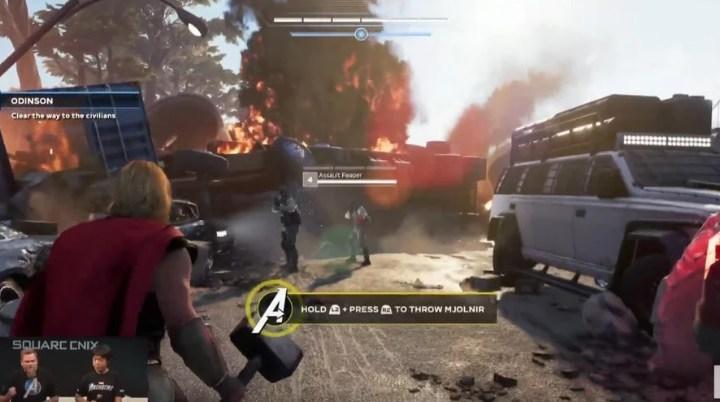 Marvel's Avengers modifica el diseño de Thor