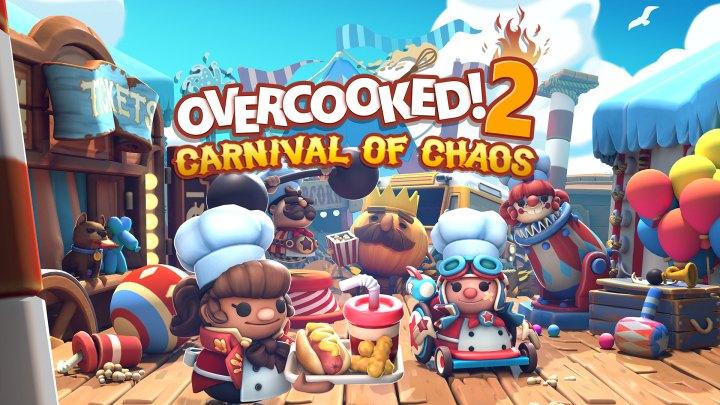 Overcooked! 2 – Carnival of Chaos ya disponible en PS4 | Tráiler de lanzamiento