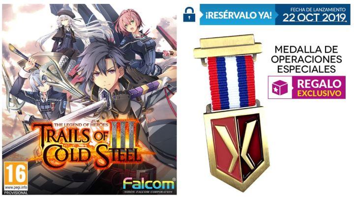 Reserva The Legend of Heroes – Trials of Cold Steel 3 en GAME y llévate este fantástico regalo