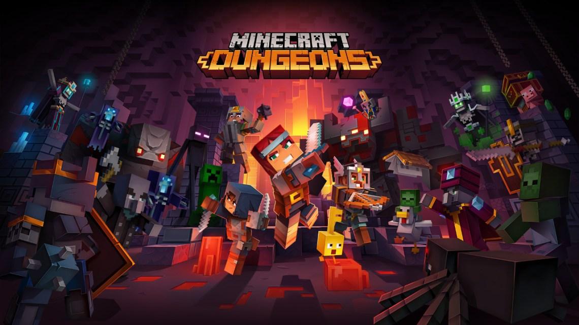 Minecraft Dungeons confirma su lanzamiento para el 26 de mayo