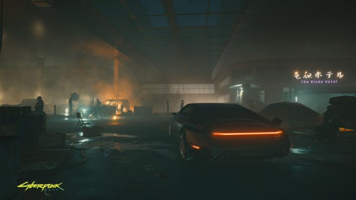Cyberpunk 2077 nos muestra los barrios bajos de Night City en una imagen inédita