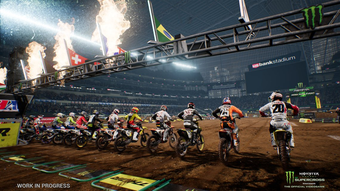 Milestone anuncia Monster Energy Supercross – The Official Videogame 3