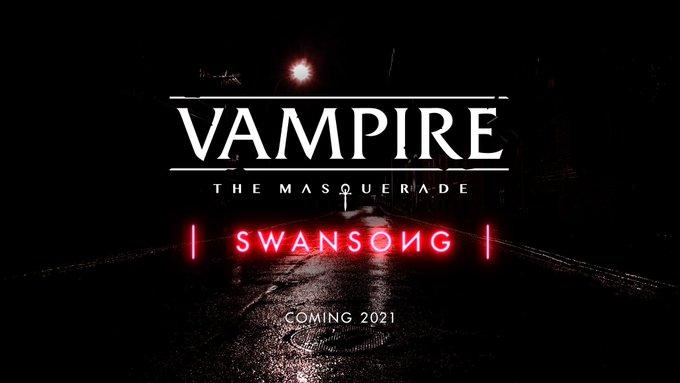 Bigben anuncia Vampire: The Masquerade – Swansong, nuevo RPG narrativo que llegará en 2021