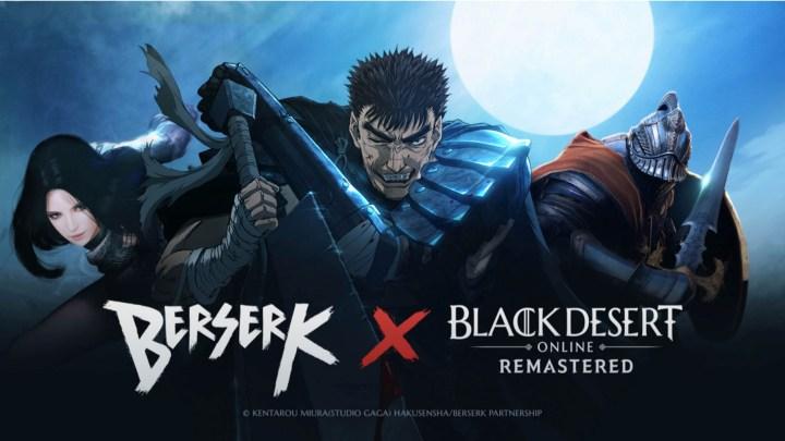 """Black Desert Online lanza un nuevo evento crossover con el conocido anime """"Berserk"""""""