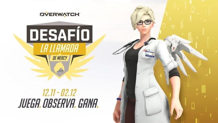 El desafío 'La llamada' de Mercy desembarca en Overwatch