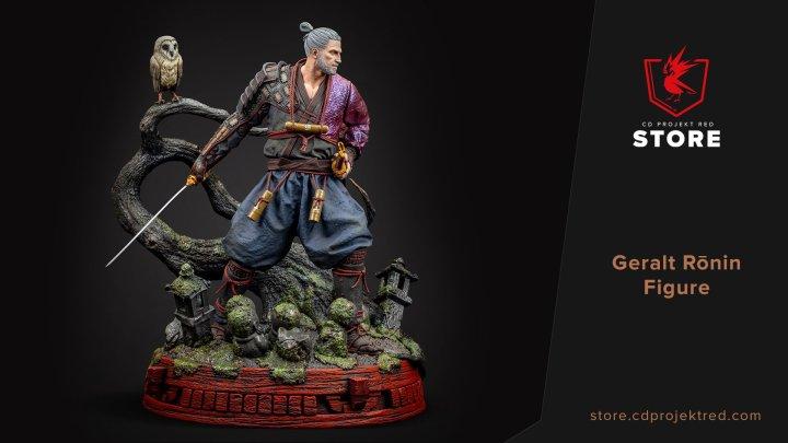 Ya disponibles las nuevas figuras de Geralt de Rivia Ronin