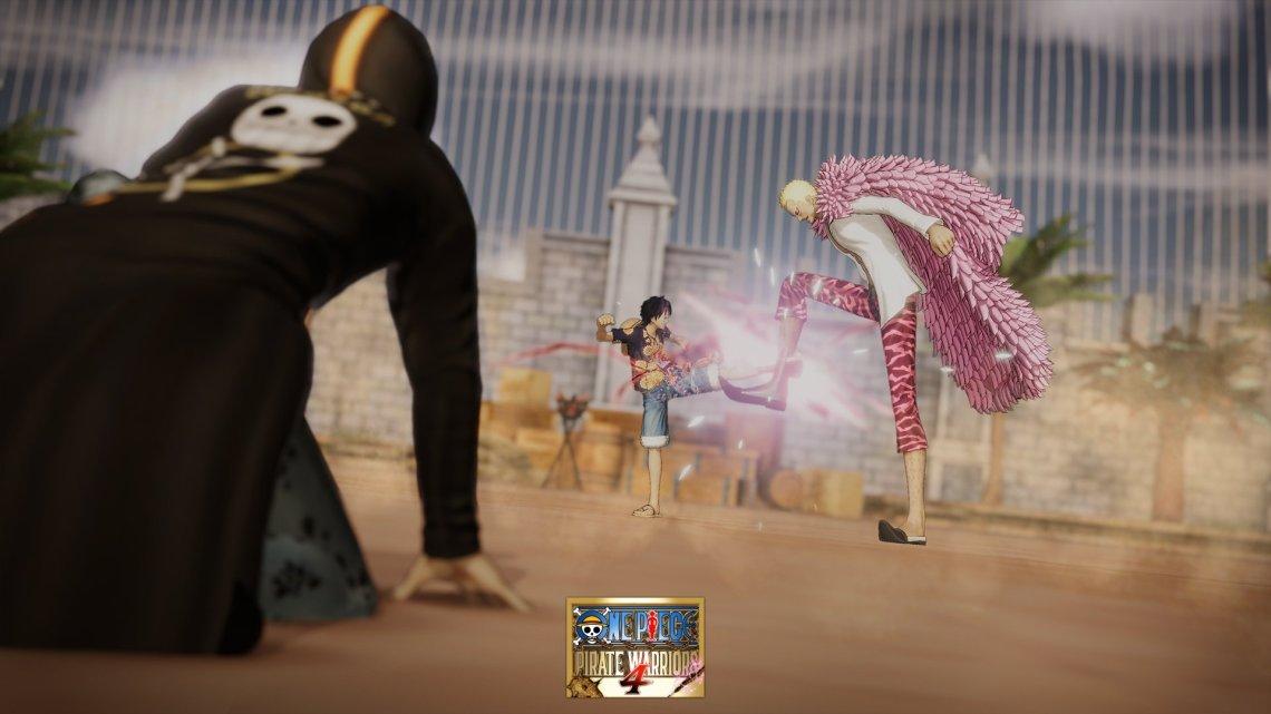 Nuevo gameplay presenta los primeros 10 minutos de One Piece: Pirate Warriors 4