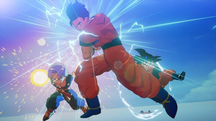 Gohan, Goten, Trunks y Androide 18 protagonizan las nuevas capturas de Dragon Ball Z: Kakarot