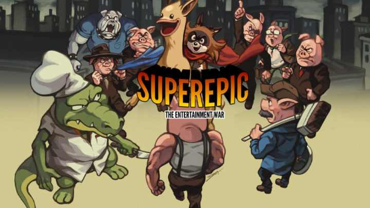 El estudio barcelonés Undercoders lanza SuperEpic: The Entertainment War para PS4, Xbox One, Switch y PC
