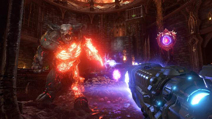 Battlemode, multijugador de DOOM Eternal, exhibe todo su potencial en un extenso gameplay