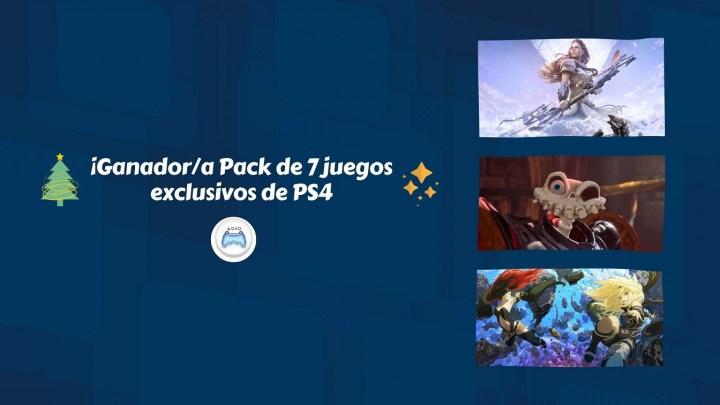 ¡Ganador/a Concurso Pack 7 juegos de PlayStation 4!