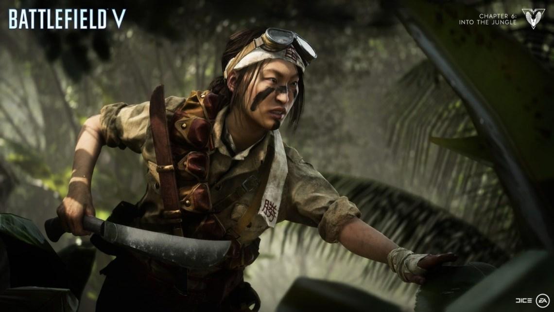 La soldado de elite 'Misaki Yamashiro' protagoniza el nuevo tráiler del capítulo 6 de Battlefield V