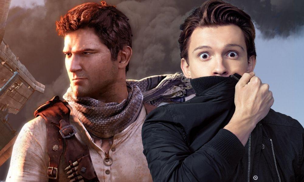 Tom Holland valora las primeras semanas de rodaje de la película de Uncharted