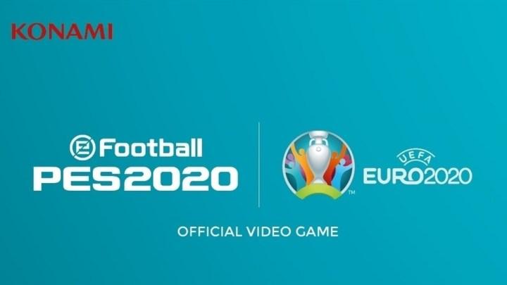 Disponible la actualización de la UEFA EURO 2020 para eFootball PES 2020
