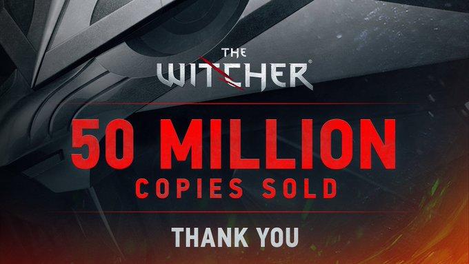 La saga The Witcher alcanza los 50 millones de unidades vendidas en todo el mundo