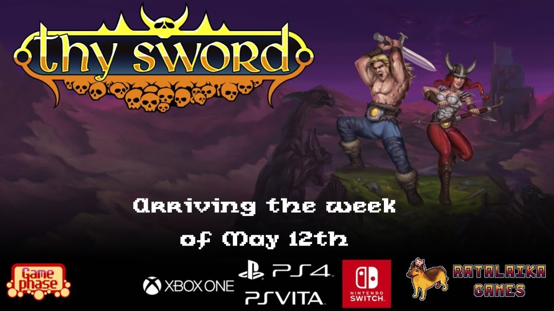 Anunciado Thy Sword, nuevo hack & slash, para PlayStation 4 y PS Vita