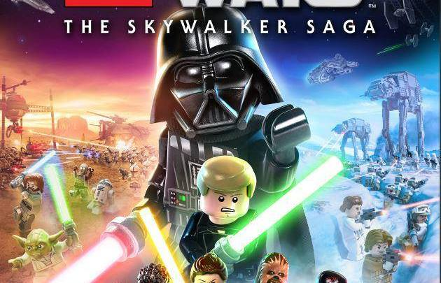 Warner Bros presenta el diseño final de la portada de LEGO Star Wars: The Skywalker Saga