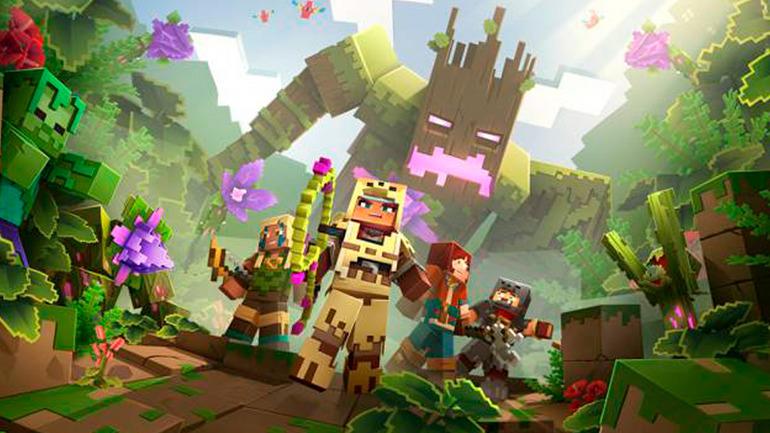 Minecraft Dungeons presenta oficialmente su primer DLC