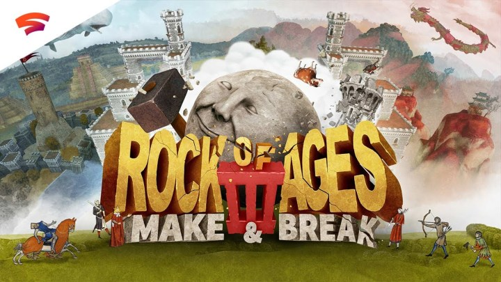 Rock of Ages III: Make & Break tendrá beta abierta en PS4 del 23 al 30 de junio