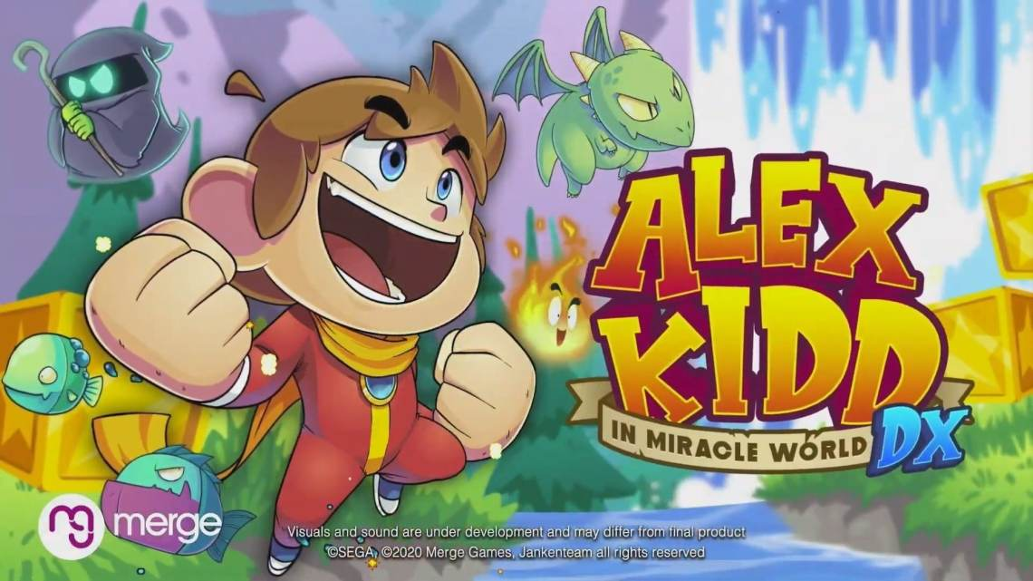 Anunciado Alex Kidd in Miracle World DX para PS4, Xbox One, Switch y PC