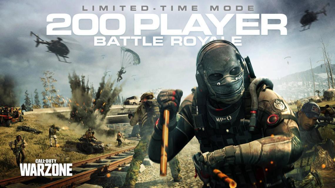 Call of Duty: Warzone ya permite las partidas de hasta 200 jugadores