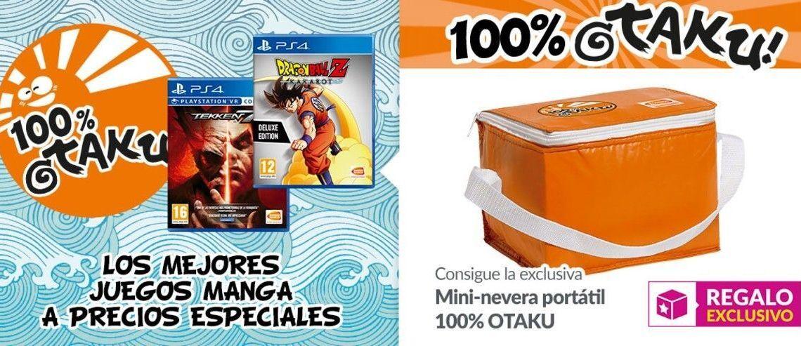 Regresan a GAME las rebajas 100% OTAKU, los mejores juegos manga con grandes descuentos