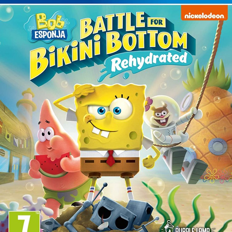 Bob Esponja Battle for Bikini Bottom - Rehydrated
