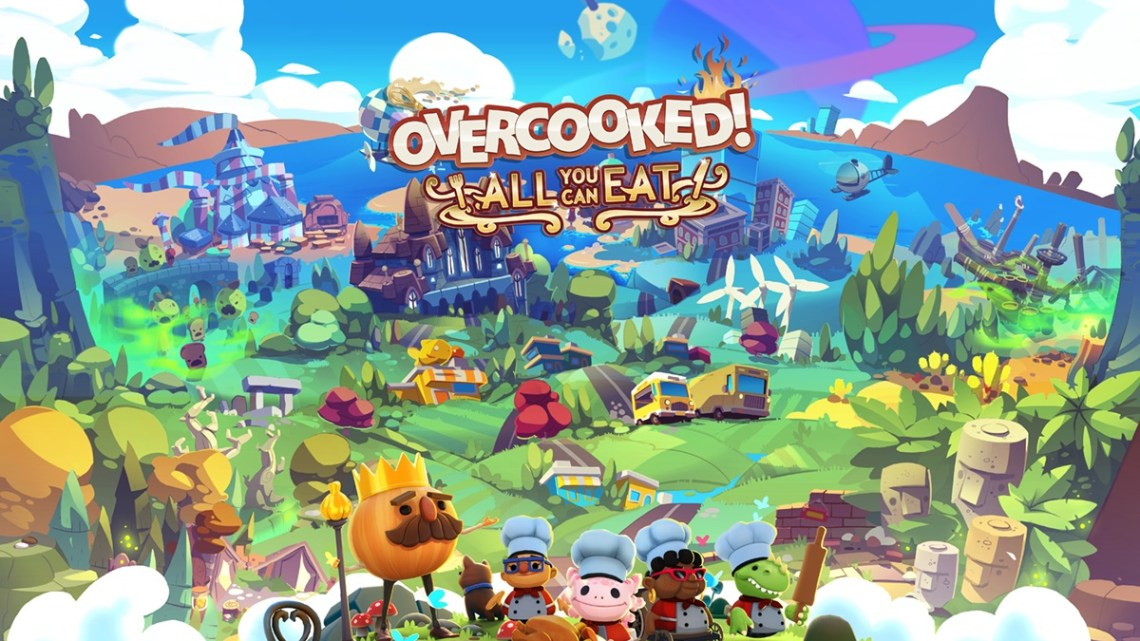 Overcooked! All You Can Eat muestra sus novedades en un tráiler inédito