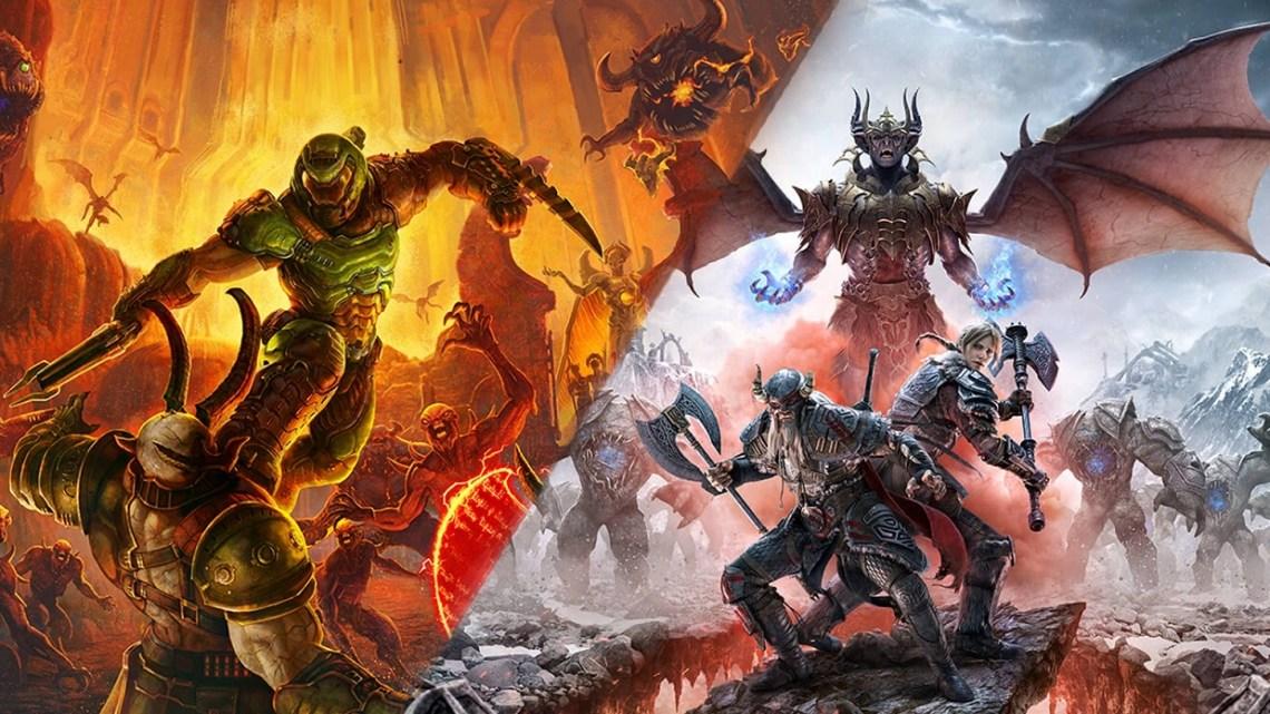 DOOM Eternal y The Elder Scrolls Online confirman su llegada a PS5 y Xbox Series X