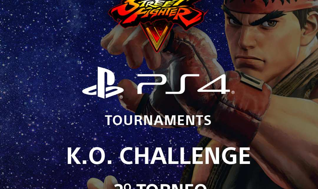 Llegan las competiciones K.O. Challenge Street Fighter V a PS4
