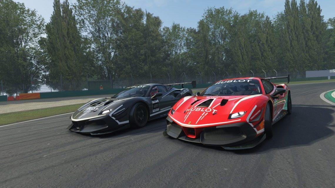 'Ferrari Hublot Esports Series' ofreció un gran espectáculo en Monza