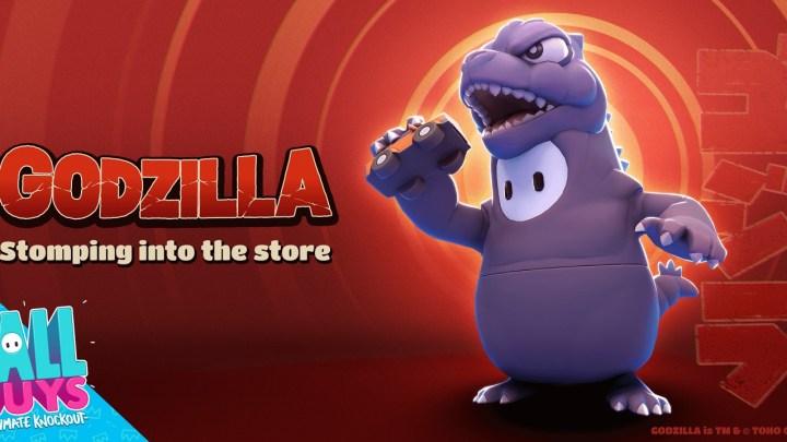 Godzilla se une a Fall Guys: Ultimate Knockout a partir del 3 de noviembre