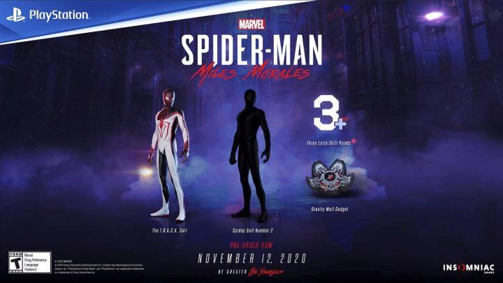 Marvel's Spider-Man: Miles Morales revela sus incentivos por reserva