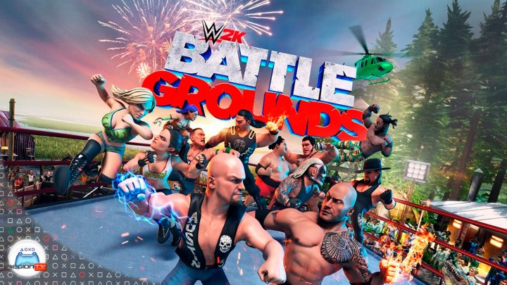 Region TV | Toma de Contacto | WWE 2K Battlegrounds