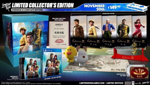Limited Run Games anuncia una edición limitada de Shenmue III para PS4