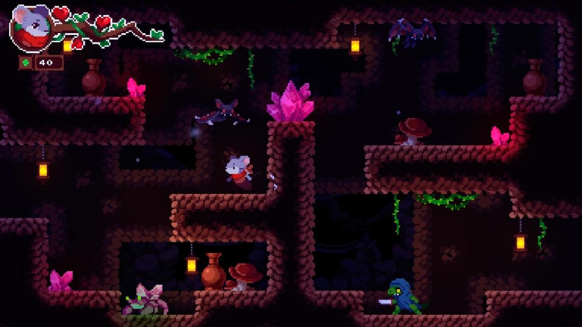 Micetopia la aventura metroidvania de Ninja Rabbit Studio se prepara para su llegada a PlayStation 4