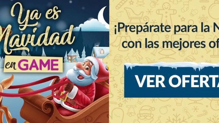 """Disfruta de las mejoras ofertas de Navidad en GAME con la promoción """"Ya es Navidad en GAME"""""""