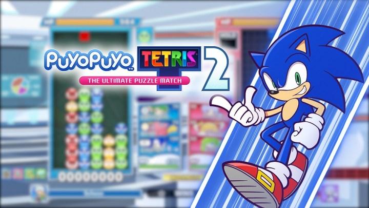 El icónico Sonic llega con la primera actualización gratuita de Puyo Puyo Tetris 2