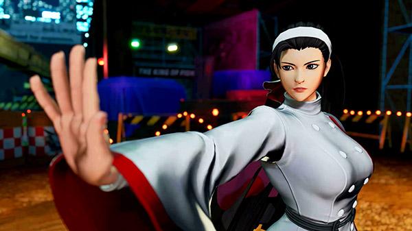 Chizuru Kagura se luce en un nuevo trailer de The King of Fighters XV