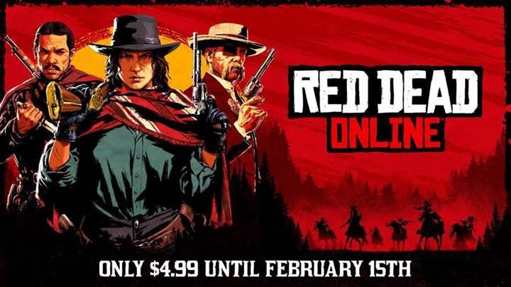 Red Dead Online celebra su versión independiente con regalos para todos los jugadores
