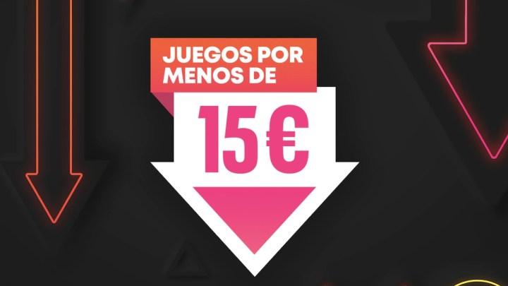 La promoción 'Juegos por menos de 15€' regresa a PlayStation Store