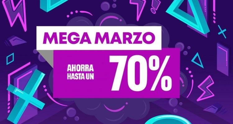Ahorra hasta el 70% con las rebajas 'Mega Marzo' de PlayStation Store