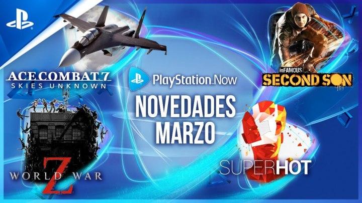World War Z, Ace Combat 7, InFamous: Second Son y Superhot se unen a PlayStation Now
