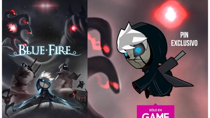 Llévate un pin exclusivo al reservar en GAME la edición física de Blue Fire para PS4 o Switch