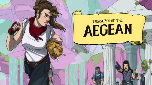 La edición coleccionista de Treasures of the Aegean llegará en edición física