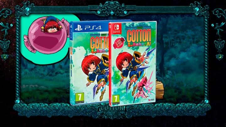Cotton Reboot! llegará en formato físico físico a España el 25 de junio para PS4 y Switch
