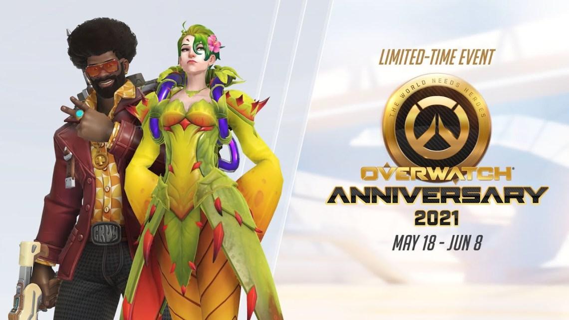 Comienza el evento de celebración del 5.º aniversario de Overwatch