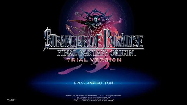 Stranger of Paradise: Final Fantasy Origin presenta su demostración jugable en un nuevo gameplay
