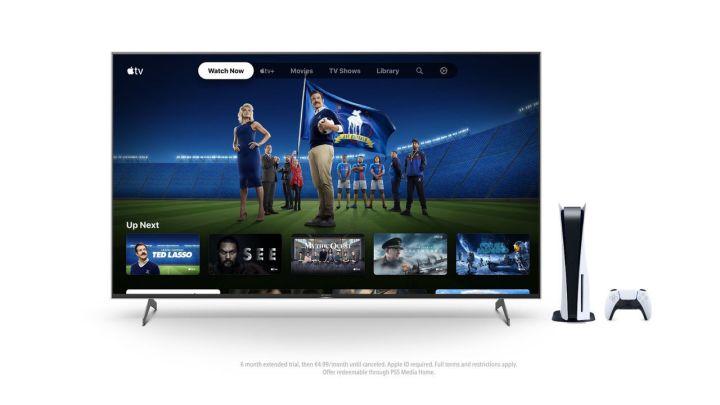 PlayStation regala 6 meses de acceso a Apple TV+ para PS5